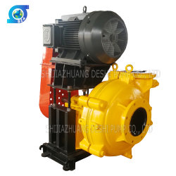 Large Capacity Motor Diesel Engine Driven 8/6 Sand Gravel Slurry Pump