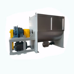 Fertiliser Powder Mixer with Ribbon Blender