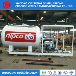 ASME 5t LPG Gas Refilling Plant 10000L for Cooking Gas Cylinder
