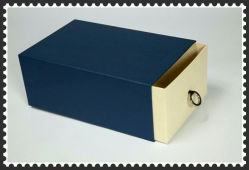 Handmade Shoes Box Packing with Clear Window and Bag accessory