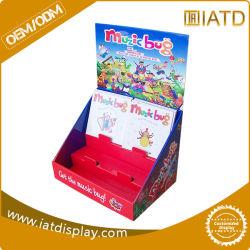 Pop Up POS Cardboard Sidekick Backpack Kids Book Counter Display