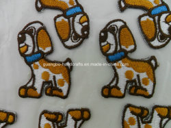 Promotional Souvenir Gift Embroidered Patches Selfadhesive Embroidery Badge Sticker