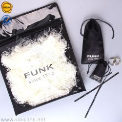 Sinicline Customized Packaging Bag with Zipper for Garment