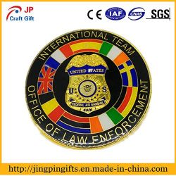 2018 Wholesale Custom Logo Metal Enamel Souvenir Badge with ODM and OEM
