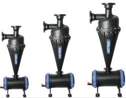 Industry Water Sand Centrifugal Filter 4 Inch/Large Particles Centrifugal Filtration Equipment