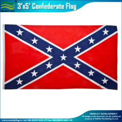 Quality Polyester 3*5ft Us Confederate Flag