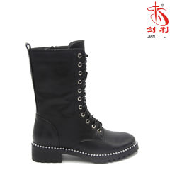 2018 New Sexy Flat Fashion Women Knee-High Boots (AB654)