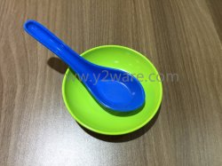 Fashionable Melamine Pop Corn Bowl Set
