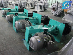 Mine Iron Coarse Sand Vertical Semi-Closed Impeller Slurry Pump