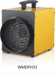 IP24 Industrial Fan Heater with Duct with 1.5m Rubber Power Cable