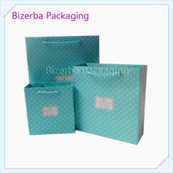 Promotional Rope Handle Printing Shopping Paper Bag