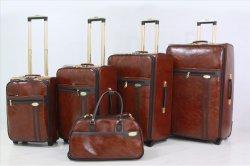 Good Price PU Luggage Trolley Bag