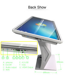 Hot & New Restaurant Multitouch Multi Top Touch Screen Interactive Smart Android Table