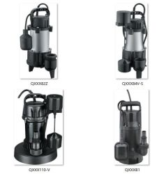 1/4HP Heavy Duty Stainless Steel Submersible Sewage Slurry Sump Pumps