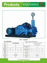 Slurry Pump, Mine, Water Well, Oil Well, Bw, Mud Pump