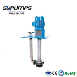 API610 VS4 Petrochemical Vertical Long Shaft Semi Submersible Turbine Oil Acid Chemical Liquid Transfer Submerged Sump Pump