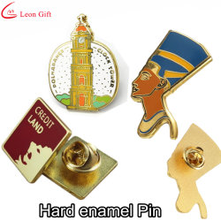 Factory Custom Gold Metal Craft Enamel Badge Lapel Pins
