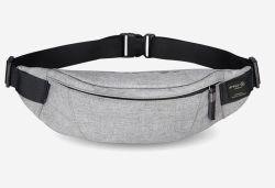 Waist Pack Bag Ultrathin Hide Purse Outdoor Sports Jogging Travel