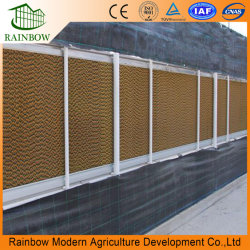 Wall Mounting Greenhouse Using Wet Curtain Wet Pad Cooling Pad