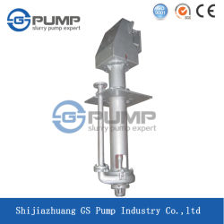 China Factory Abrasive Resistant Heavy Duty Centrifugal Vertical Slurry Pump