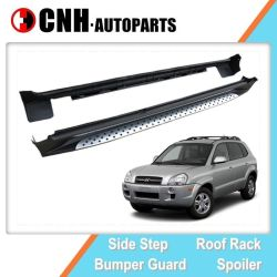 Auto Accessory Sport Style Side Step Running Boards for Hyundai Tucson 2004 2006 2008