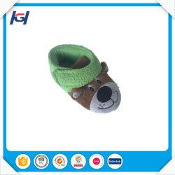 New Arrival Cute Soft Warm Children Indoor Green Winter Boots