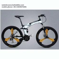 26'' Inch Cheap Aluminum Alloy One Piece Wheel Fat Bicycle Folding Road Mountain Bike