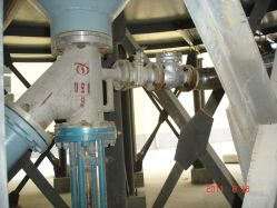 Tank Bottom Angle Valve for Coal Slurry