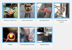 High Frequency Induction Heating Brazing Welding Machine/Inducion Heater/Heat Treatment with Prolong Cable