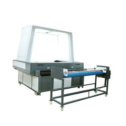 1800*1200 Sccd CCD Large Format Laser Cutting Equipment /SLR Digital Camera Auto Feeding Locating /Sports Clothing/Banner/Flag/Swimsuit/Underwear