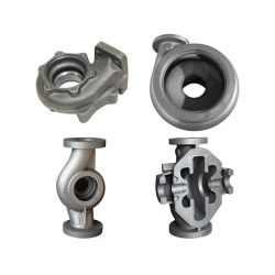 Foundry OEM Lost Foam/Investment Casting Stainless Steel Carbon Iron Sand Sewage Mud Slurry Pump Spare Part with CNC Machining
