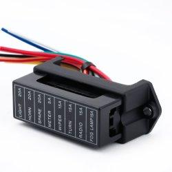 8 way circuit car trailer auto blade fuse box block holder