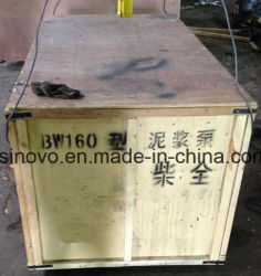 Model BW160 horizontal type single cylinder mud pump