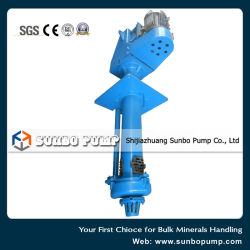 Vertical Sewage Slurry Pump, Centrifugal Pit Pump, Mining Equipment