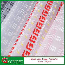 Qing Yi High Quality Silicone Coated Pet Release Film for Screen