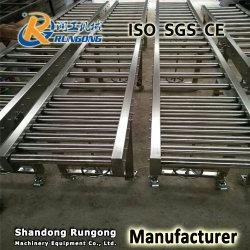 Metal Rotary Rolling Unloading Steel Free Conveyor