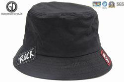 Custom Leisure Sports Fisherman Bucket Hat with Woven Logo Label 342f70f0aa14