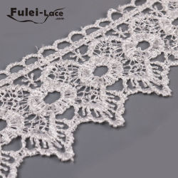 Custom Manufactured African Lace Fabrics Embroidery