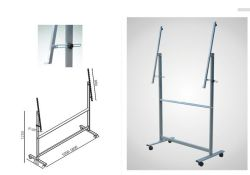 Steel Stand for Mobile Whiteboards with Best Quality Only