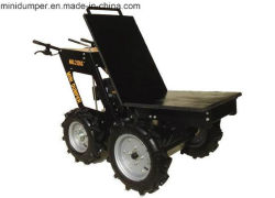 Agriculture Mini Transporter 4WD with Chain Drive