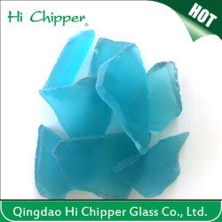 Colored Construction Decorative Sea Glass Stone