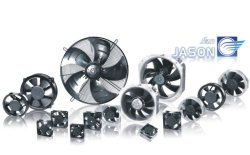 220V 60Hz Single Phase 3200 4300 M3/H 1640 Rpm Speed Axial Fan for Heat Exchangers