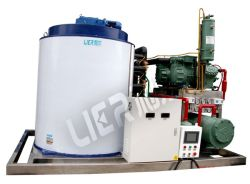 Automatic Control High Quality Flake Ice Machine for Seafood Processing Ce LVD Approved
