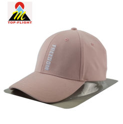 62bb9e9efd3 OEM Custom Made Embroidery 6 Panel Structured Baseball Cap