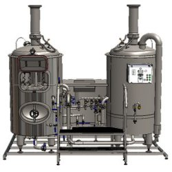 Industrial Brewery Factory Beer Brewing Machine/Craft Brewery Machinery Daily 500L-2000L/Wort Treatment Equipment