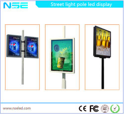 Scrolling System City Light Poster Street Light Pole Display
