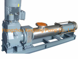 Xinglong Single Screw Pump of Large Capacity for Coal Water Slurry / Sewage Sludge / Molasses