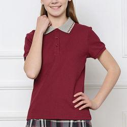 ed193f2d9 Children Cotton Wholesale School Uniform Design Polo Shirts