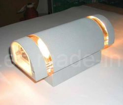 Wholesale Waterproof LED up Down Wall Sconce Light with Bronze Finish and J-Box Base