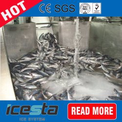 Slurry Ice for Fish, Seafood
